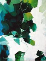 Xander Breumelhof titel: White and green techniek: olieverf op doek afmetingen: 80x60 cm verkoopprijs: € 650