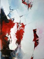 Xander Breumelhof titel: White and red techniek: olieverf op doek afmetingen: 80x60 cm verkoopprijs: € 650